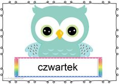 dni7 Borders And Frames, Tweety, Montessori, Kawaii, Children, Fictional Characters, Owls, Early Education