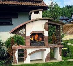 Barbecue: kırsal tarz tarz Bahçe