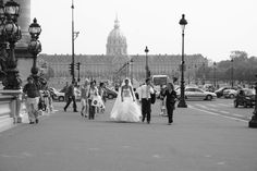 Wedding in Paris. Image by Katrina Holden