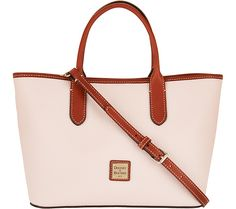 The Brielle is a brilliant leather satchel for everyday elegance and optimal organization. From Dooney & Bourke. QVC.com
