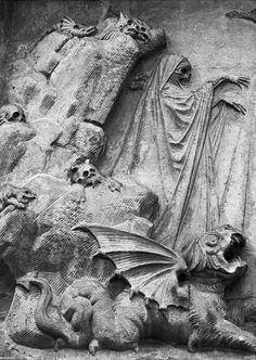 Danse Macabre  Etienne Gaspard Roberts gravesite at Pere Lachaise cementery