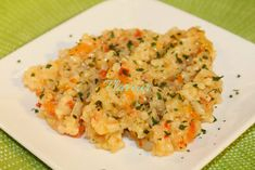 PILAF SIMPLU - Flaveur Risotto, Ethnic Recipes, Food, Eten, Meals, Diet
