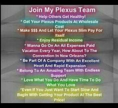Plexus Worldwide is growing like crazy. Do you want to be a part of this amazing company? Visit shopmyplexus.com/gmn1972 for more information
