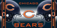 NFL Chicago Bears Fiber Reactive Beach Towel $15.99
