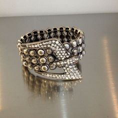 Rhinestone Buckle Bracelet   Kane Women's Jewelry via: Michelle Tan - Price: $39.00