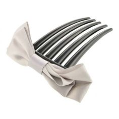 Aaishwarya Grey Bow knot Hair Comb Clip #hairaccessories #combclip #bowcombclip