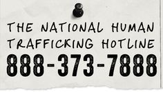 Human Trafficking Hotline | Call: 1-888373-7888 | Love146 Task Force Community