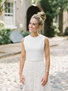 These Two - Their Pics + Their Story - Will Make You Believe In Love Sarah Photography, No Heat Hairstyles, Make You Believe, Little Black Books, Classic Chic, Engagement Shoots, Charleston, Lace Skirt, Make It Yourself