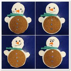 Manga por Hombro: Salvamantel muñeco de nieve