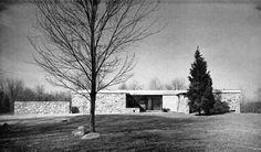 Breuer House II New Canaan, Connecticut, USA; 1951-52  Marcel Breuer