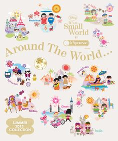 Summer 2013 lesportsac it's a small world print