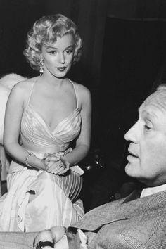 Marilyn Monroe with Jack Benny