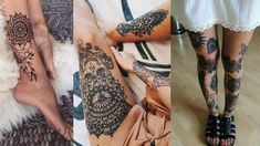 Leg tattoos give an amazing and fabulous look to your body. Generally, most girls like to have an ankle tattoo. Check these top leg tattoos for girls. Girl Leg Tattoos, Tattoo Designs For Girls, Ankle Tattoo, Great Legs, Mandala Tattoo, Beautiful Legs, Girl Face, Simple Way, Tattoos For Women
