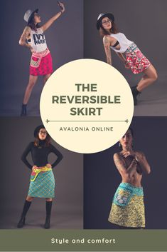 22 Best Reversible printed skirts images in 2018 | Printed skirts