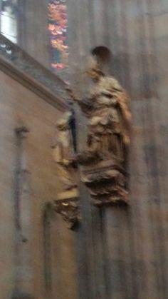 Прага- Собор Святого Вита Statue, Painting, Art, Art Background, Painting Art, Kunst, Gcse Art, Paintings, Painted Canvas