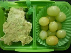 Frog on a Pond of Peas - Bento Inspired Lunch Box