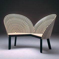 : Nanna Ditzel Bench for Two #NannaDitzel #aquapricot #instagood #design by aquapricot