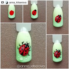 Heat Up Your Life with Some Stunning Summer Nail Art 3d Nail Art, Fruit Nail Art, Nail Art Hacks, Animal Nail Designs, Nail Art Designs Videos, Animal Nail Art, Ladybug Nail Art, Butterfly Nail Art, Flower Nail Art