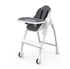 Oribel Cocoon 3 Stage Modern High Chair (Slate)