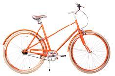 purchase this orange PUBLIC M8 - Eight-Speed Women's Bikes, Unisex Lightweight Bicycles