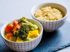 Ayurvedisches Curry mit Gemüse (vegan, glutenfrei, zuckerfrei) #Ayurveda #Brokkoli #Gemüse #glutenfrei #Curry #HealthyFood #Kokosmilch #laktosefrei #Quinoa #Soulfood #vegan #vegetarisch #weizenfrei #zuckerfrei #rezepte #wohlfuehlkost