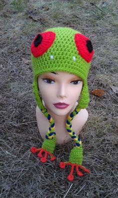 Free Crochet Character Hat Patterns Using Red Heart Reflective Yarn #redheartreflective