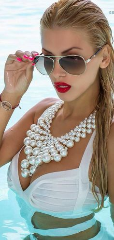 fierce in pearls and without them