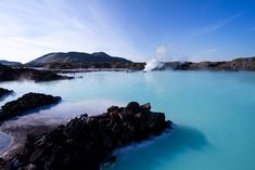 The Blue Lagoon is the most popular geothermal spa in Iceland. Relax in the lagoon's mineral-rich waters as you surround yourself with iconic lava landscapes. Tectonique Des Plaques, Les Continents, See The Northern Lights, Iceland Travel, Reykjavik Iceland, Visit Reykjavik, Famous Landmarks, Ultimate Travel, Blue Lagoon