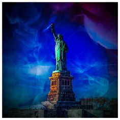 Statue of Liberty New York. Photo Art by Schwantz Art & Design Liberty New York, Empire State Building, Statue Of Liberty, Photo Art, Design, Statue Of Liberty Facts, Statue Of Libery