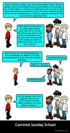 Meme Monday – Calvinist Sunday School Class.