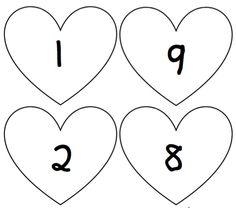 Verliefde hartsommen | Klas van juf Linda