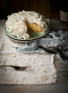 Gluten Free Lemon and Coconut Cake
