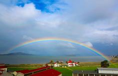 We love our #Home in the #Presidio #SanFrancisco #rainbows #scenic