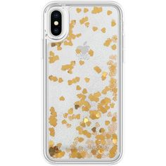 Women's Rebecca Minkoff Glitterfall Iphone 8 Plus/x Case ($40) ❤ liked on Polyvore featuring accessories, tech accessories and rebecca minkoff