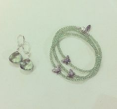 A simple and classy look and What would you wear it with? How To Look Classy, Crochet Earrings, Simple, Green, Silver, How To Wear, Jewelry, Fashion, Moda
