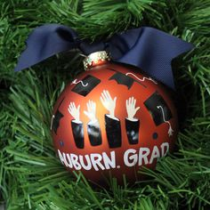 The Perfect Gift for the December Graduate, an AU Ornament | Auburn University Bookstore