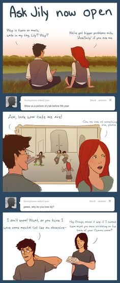 Ask Jily by =julvett on deviantART