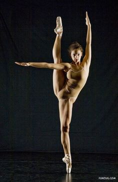 To anyone who says dance isnt hard. please look at her muscles. that takes work