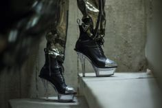 Backstage Pass: Paris Fashion Week Fall 2014 - Jean Paul Gaultier Fall 2014