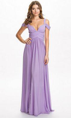 Greta Lilac Gown