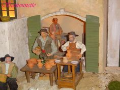 Les potiers, the Pottery makers, Santons, Provence