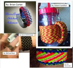 #MondayMedley  Check out the work from our talented fan base!! #ParacordLove #HappyCording