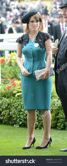 Princess Eugenie attends Ascot