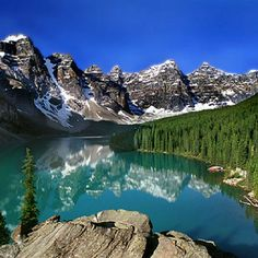Moraine Lake! Banff National park! Canadian Rockies! MY FAVORITE SPOT ON THIS EARTH!! Magical!!