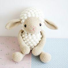 Amigurumi kuzu 1 Amigurumi sheep 1