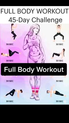 FULL BODY WORKOUT 45 Day Challenge