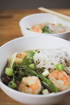 Prawn and Vegetable Ramen Recipe - Globe Scoffers | globescoffers.com