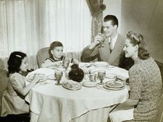 Make a commitment in 2015 to eat more family meals together-- and it doesn't have to always be dinner! In my house, we eat breakfast together every day. #Familyfirst