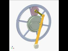 Cam and gear mechanism 11 - YouTube
