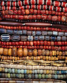 Necklaces, West Africa